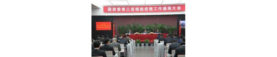 国资委党委第三巡视组向中国建材联合会反馈巡视意见