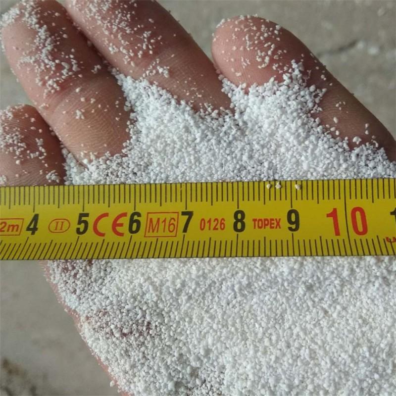 轻质抹灰石膏、机喷石膏用70-90目高强度珍珠岩玻化微珠